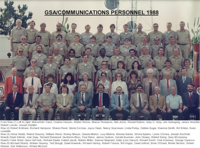 GSA / Communications Personnel 1988
