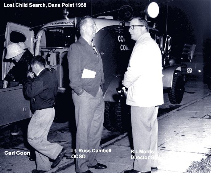Lost Child Search, Dana Point 1958