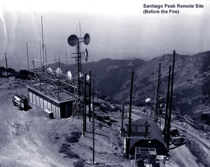 Santiago Peak Remote Site (before the fire)