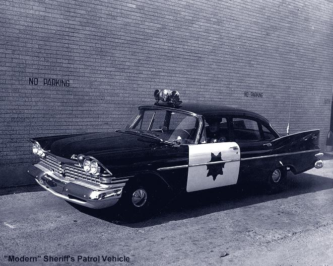 Modern Sheriff's Patrol Vehicle