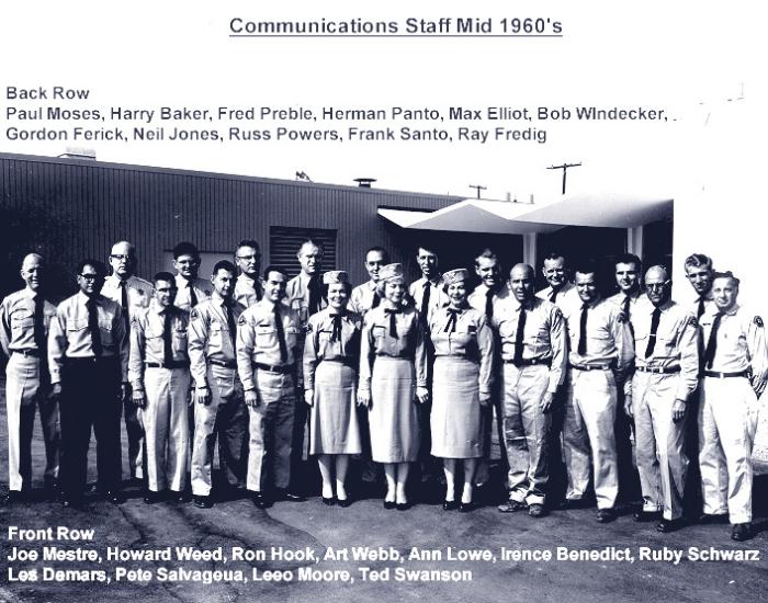 Communications Staff Mid 1960's