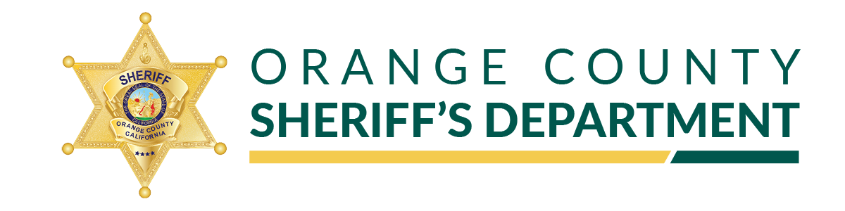 Orange County, California - Sheriff's Department Logo -- Home